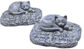 Cat Loss Memorial Stone