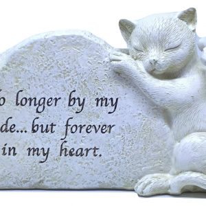 cat loss garden memorial ornament