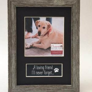 loving friend photo memorial pet loss frame